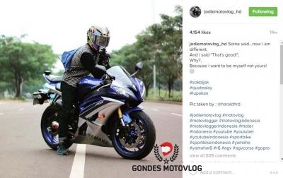Tren Motovlog di Indonesia