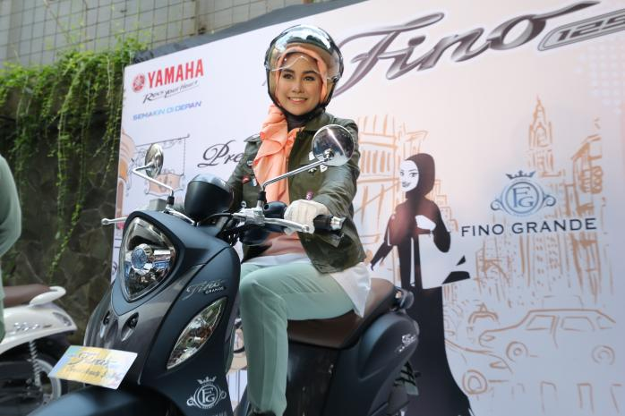Mantap Berkendara dengan Kaki-kaki Kuat Yamaha Fino Grande