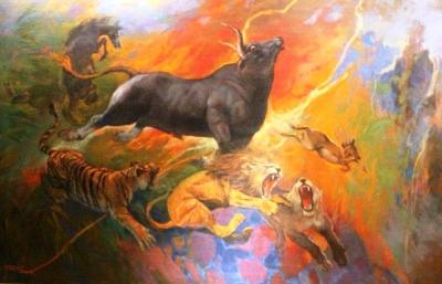 Mengingat Lukisan Basoeki Abdullah di Hari Lingkungan Hidup