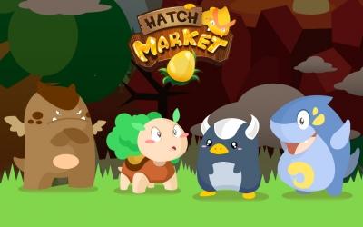 Hatch Market: Game Indonesia Pertama Berhadiah Emas