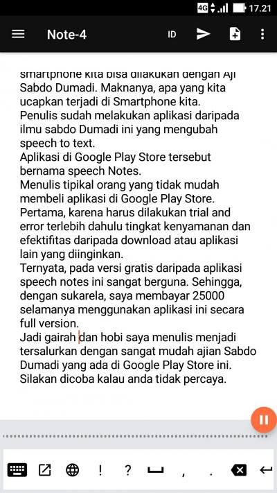 Waoow, Ada Ajian Sabdo Dumadi Yang Terbukti di Google Play Store