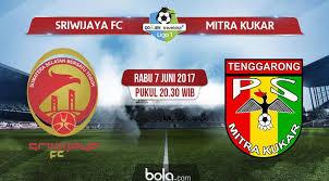 Sriwijaya FC Gasak Mitra Kukar 3-1 di Palembang