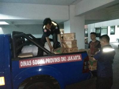 350 Korban terdampak kebakaran Penjaringan dapatkan bantuan