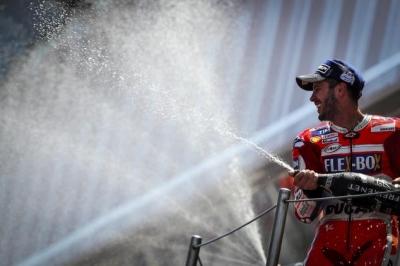 Dovizioso Juara MotoGP Catalunya, Rossi Finis kedelapan