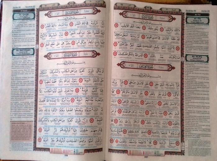 Nuzulul Qur'an, Rindu Mengaji