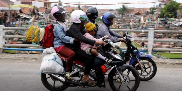 Ingin Mudik dengan Sepeda Motor? Coba Pertimbangkan Lagi.