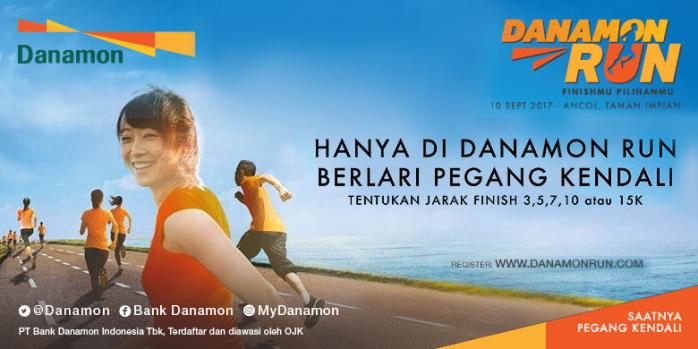 Pertama di Indonesia, Danamon Persembahkan Konsep Lomba Lari