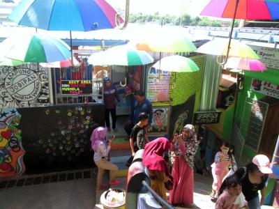 Liburan Lebaran di Kampung Wisata Warna-warni Malang bagi Semua Warga