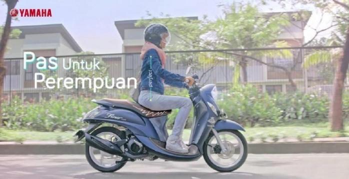 Yamaha Fino Grande, Pas untuk Perempuan Aktif