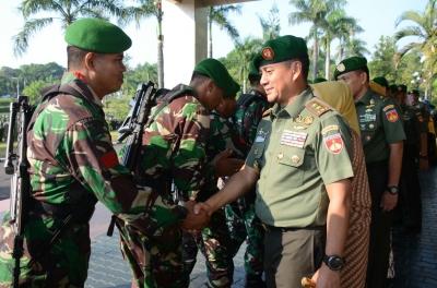 Pangdam IV/Diponegoro Gelar Halal Bihalal Dengan Prajurit dan PNS