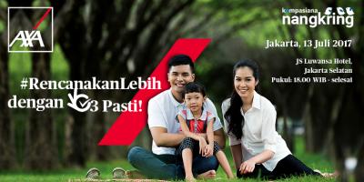 [Nangkring] Rencanakan Hidup Lebih Pasti bersama AXA Financial di Jakarta
