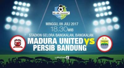 Madura United Pecundangi Tamunya Persib Bandung