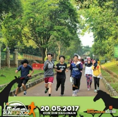 Run For Zoo 2017: Serunya Berlari Bersama Hewan-Hewan Ragunan