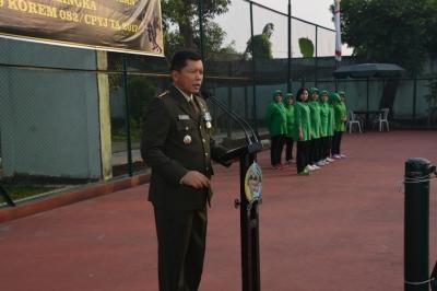 Danrem 082/CPYJ Buka Turnamen Voli dan Tenis Lapangan
