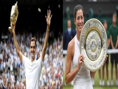 Wimbledon 2017, Spotlightnya Federer dan Muguruza!
