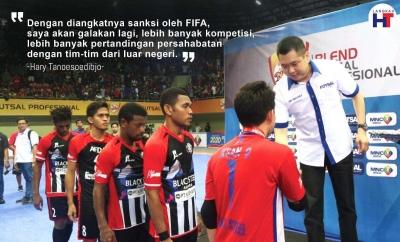 Hary Tanoe Tersangka dan Nasib Futsal Indonesia?