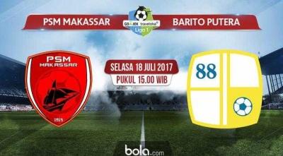 David Laly Buyarkan Kemenangan PSM Makassar