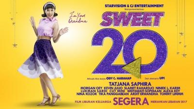 Kurang Diunggulkan, Sweet 20 Tembus 1 Juta Penonton