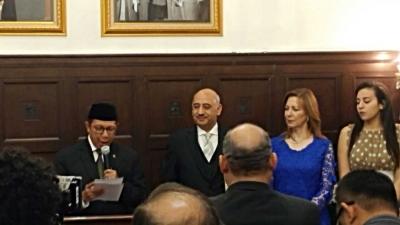 Merayakan National Day of Egypt di Kedutaan Besar Mesir, Jakarta