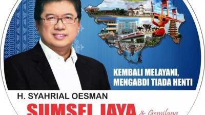Syahrial Oesman Ajak Berfikir Positif pada Semua Lawan Politknya