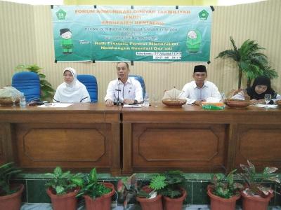 Kakan Kemenag Buka PORSADIN III Tingkat Kabupaten Bantaeng