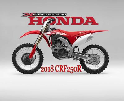Honda Luncurkan CRF250R 2018, Apa Saja yang Baru?