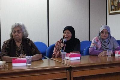 Audiensi dengan Ikatan Keluarga Orang Hilang Indonesia, Dinsos Paparkan Program