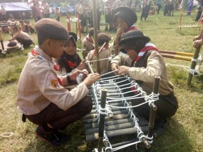 Sambut Hari Pramuka, 12 Kecamatan Gelar Jambore