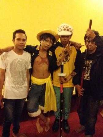 Hari Jadi Pertama Komunitas OPD Bali, Hadirkan Cosplay Karakter One Piece