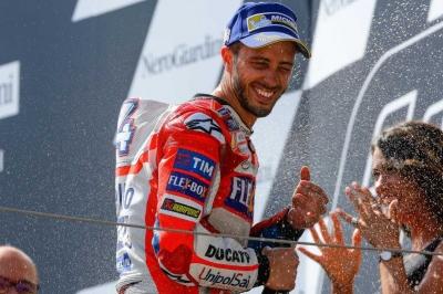 Marquez Takluk pada Dovizioso di MotoGP Austria