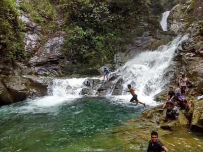 Mengunjungi Air Terjun Simempar Deli Serdang