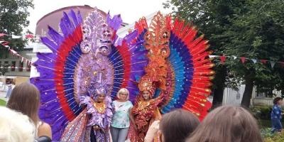 Rusia Terpesona dengan Festival Indonesia 2017 di Moskow