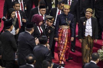 Ketika Badan Kurus Jokowi Jadi Sorotan di Sidang Tahunan MPR