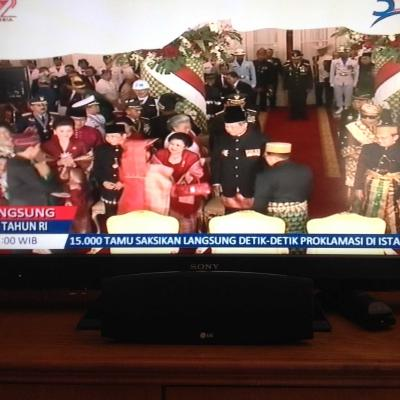 SBY dan Ibu Ani Hadir di Istana, Akankah Agus Akan Jadi Menteri?