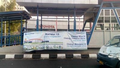 Kenyamanan Bus Transjakarta Koridor 13, Ayo Naik Transportasi Publik