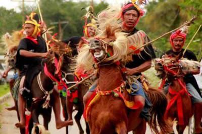 Parade 1001 Kuda Sandalwood di Sumba