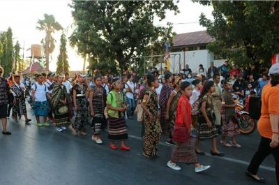 Karnaval Kemerdekaan di Kupang; Merdeka dalam Keberagaman
