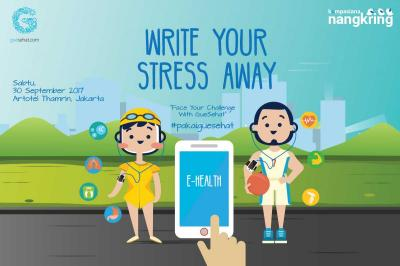 Bisakah Melepas Stres dengan Menulis? Cari Tahu bersama GueSehat!