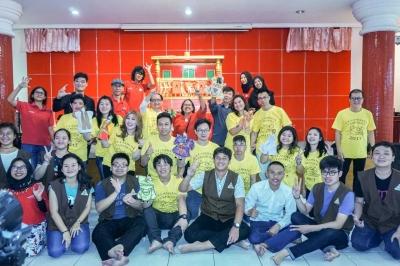 Wayang Potehi Meriahkan Upacara Ulambana di Bogor!