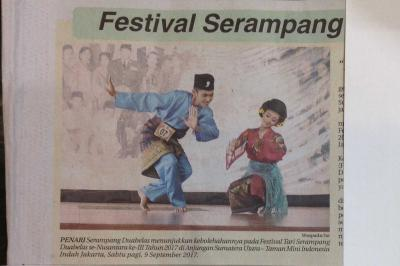Sukarno Pernah Canangkan Serampang Duabelas sebagai Tari Nasional