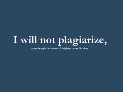 Plagiarisme: Penghalang Kekreatifan Pelajar