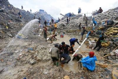 Dampak PETI, Alam Gunung Botak Tak Lagi Sehat