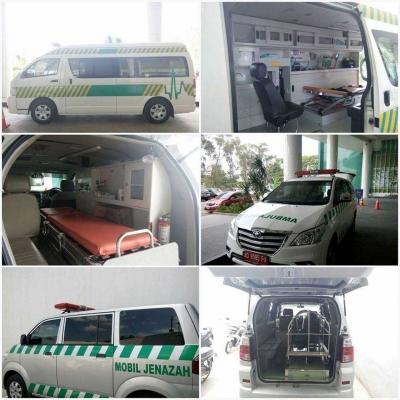 Beda Ambulans Pasien dan Mobil Jenazah, agar Tidak Salah Paham
