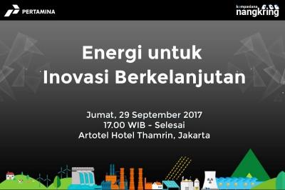 Diskusi soal Energi untuk Inovasi Berkelanjutan di Nangkring bareng Pertamina