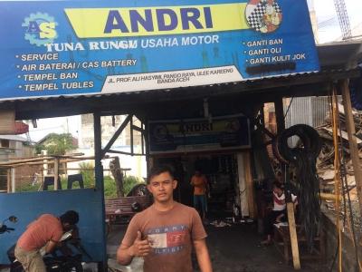 Pelajaran Solidaritas dari Andri, Remaja Tuna Rungu