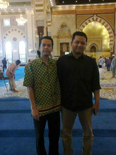 Imam Masjid Indonesia di Tanah Arab