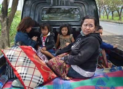 Nasib Pengungsi Mandiri Erupsi Gunung Agung