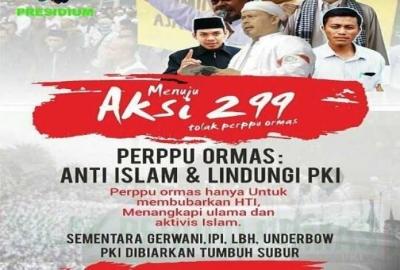 Aksi Demo 299 Bukan Dakwah atau Jihad, Melainkan Gerakan Politik