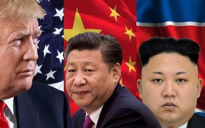 Korea Utara Ancam Tembak Jatuh Pesawat Tempur Amerika Serikat