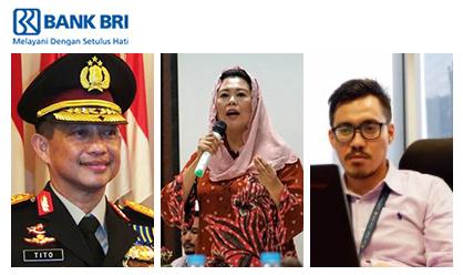 Sharing Netiquette Kebangsaan<br>Tito Karnavian*, Yenny Wahid, dan Victor Kamang